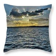 Solent Sun Rays Throw Pillow
