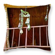 Soleri Bells II Throw Pillow