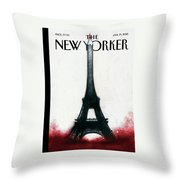 Solidarite Throw Pillow