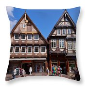 Solidegloria Throw Pillow