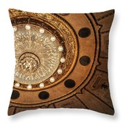 Solis Theater Ceiling Throw Pillow