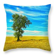 Solitario Throw Pillow