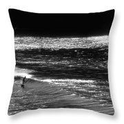 Solitary Glass Throw Pillow