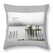 Solitude Begets Whimsies Throw Pillow