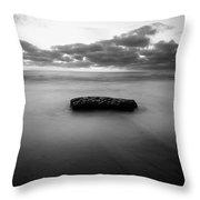 Solitude Rock Throw Pillow