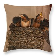 Solo Act Throw Pillow by Mark Alder