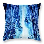 Solo Blue Throw Pillow