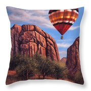 Solo Crossing Throw Pillow