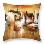 Solo Reflejos Throw Pillow