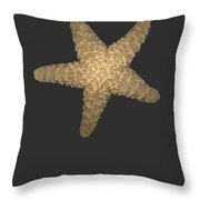 Solo Starfish I Throw Pillow