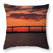 Solomon Bridge Throw Pillow