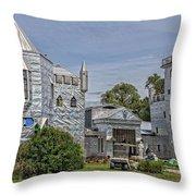 Solomon's Castle Ona Florida Throw Pillow