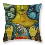Solstice Dreamer Throw Pillow