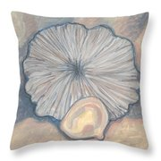 Soft And Hard Radiates Throw Pillow