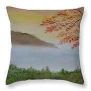 Some Alone Time Throw Pillow by Sayali Mahajan