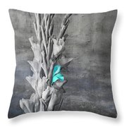 Some Blue Throw Pillow