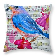 Some Bright Morning Throw Pillow