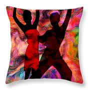 Some Like It Hot 3 Part 2 Throw Pillow