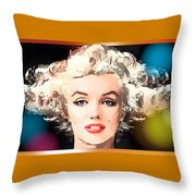 Marilyn - Some Like It Hot Throw Pillow