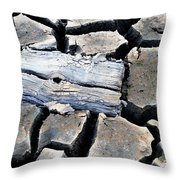 Some More Wood Throw Pillow