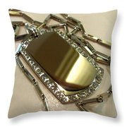Some Other Shiny Thing Throw Pillow by Marcello Cicchini