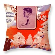 Somebody Loves You B Throw Pillow