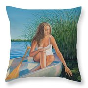 Someday My Prince Will Come Throw Pillow
