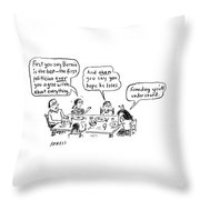Someday You'll Understand Throw Pillow