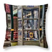 Someone Call The Police Throw Pillow