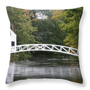 Somesville - Mount Dessert Island Throw Pillow