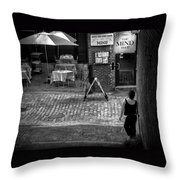 Something For Your Mind Throw Pillow
