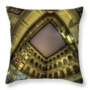 Something In The Corner  Throw Pillow