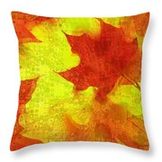 Something Like Autumn Throw Pillow