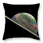 Something New On The Horizon Throw Pillow by Richard Ortolano