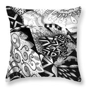 Sometimes A Mystery Throw Pillow