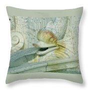 Somewhat Fishy Throw Pillow