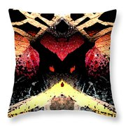 Somewhere Between Above And Below Throw Pillow