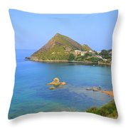 Algeria-djidjelli. Throw Pillow by Riad Belhimer