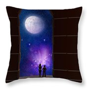 The View To Infinity Throw Pillow