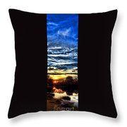 Somewhere On Earth Throw Pillow