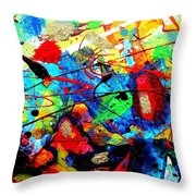 Somewhere Over The Rainbow Throw Pillow by John  Nolan