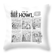Son Of Howl Throw Pillow