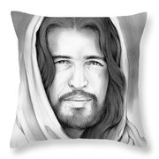 Son Of Man Throw Pillow