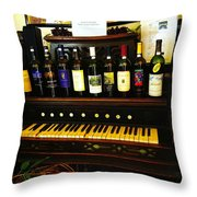 Song And Wine Throw Pillow