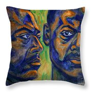 Song Of Freedom Throw Pillow