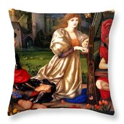 Song Of Love Throw Pillow