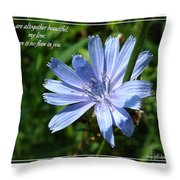Song Of Solomon 4 Verse 7 Throw Pillow