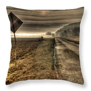 Song Of The Open Road Throw Pillow