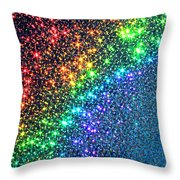 Song Of The Stars Throw Pillow