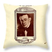 Song Of The Wanderer Throw Pillow